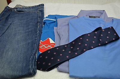 Mens  clothes bundle 5 items (see description for sizing and items)