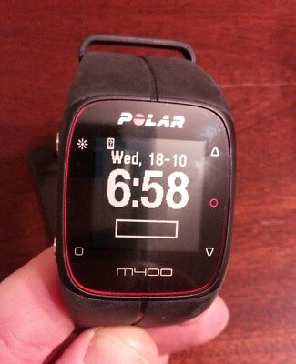 Polar M400 GPS watch, used, perfect condition, boxed