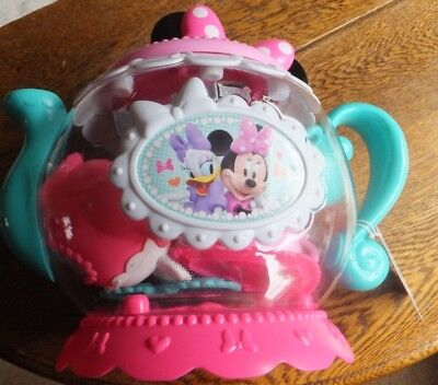 Disney - Minnie Mouse - Happy Helpers Teapot Playset - 16 Pieces - Ages 3+