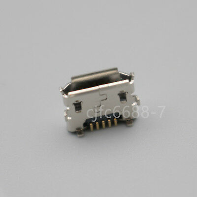 20Pcs Micro Female USB Type-B 5Pin Horns Reverse SMT Socket Solder Connector