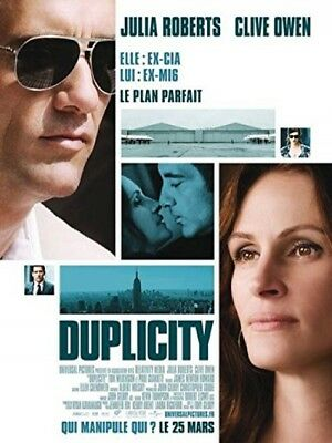 Duplicity and ndash; Julia Roberts Clive Owen 116x158 cm Original Cinema Poster