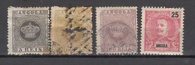 Angola 1870s Very nice lot of stamps USED