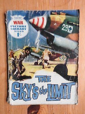 War Picture Library #149 - The Sky's the Limit Fleetway