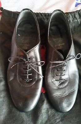 Mens Supadance Ballroom Shoes Size 7.5 With Heel 4cm (1 and a half inch)
