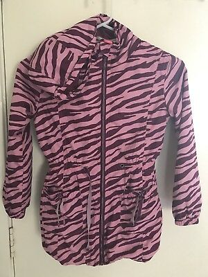Girls Size 10 - Pink Sugar Pink Zebra Jacket & Silver Girls Cardigan