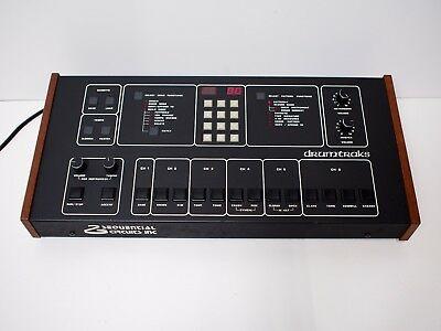Sequential Circuits Drumtracks 400 Drum Machine in Outstanding Condition