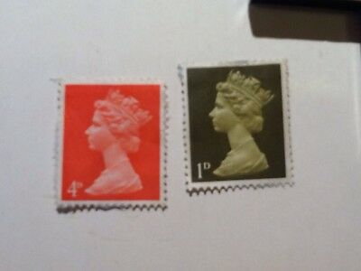 Stamp Holder With 2 Great British Stamps