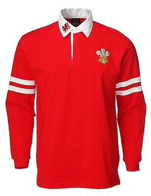 Camiseta Polo Shirt Supporters - Gales Wales - Manga Larga - Talla L