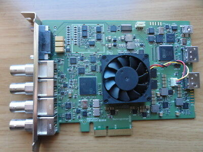 Blackmagic Decklink HD Extreme 3D Video Card with SDI  & Breakout cable