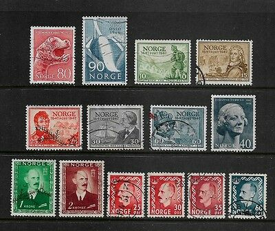NORWAY - mixed collection No.7, 1946-1972