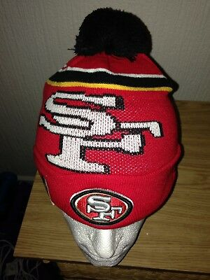 Official NFL San Francisco 49ers New Era Beanie Hat