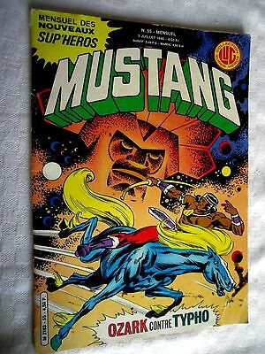 COLLECTION SUPER HEROS  MUSTANG   No 55