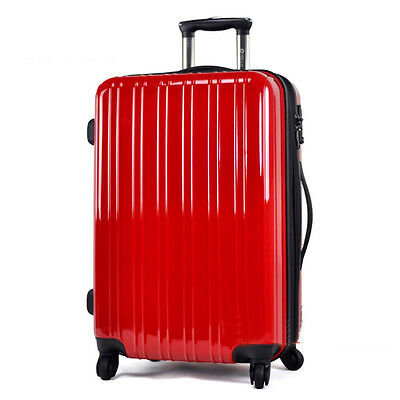 "24"" Red Height 65cm Universal Wheel ABS Travel Suitcase/Luggage Trolley *"