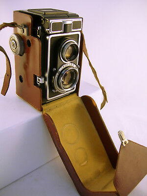 Collectable Vintage Zeiss IKOFLEX (IC) Camera 1956-60 in Case (WH_1683)