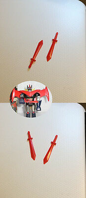 Coppia Spade Swords Replica Per GA-05 Great Mazinger Grande Mazinga Popy