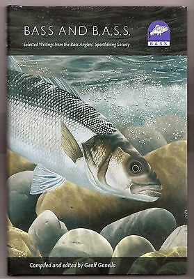 Sea bass fishing book:Bass and BASS -bass angling & the Bass Anglers Society NEW