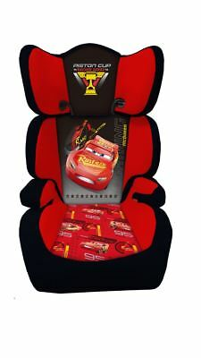 Disney Cars Highback Child Car Seat Kids Toddler Safety Booster Chair Group 2/3