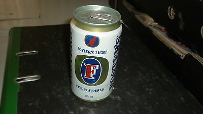 OLD AUSTRALIAN BEER CAN, 1980s FOSTERS LIGHT ALLOY, 15c TOP