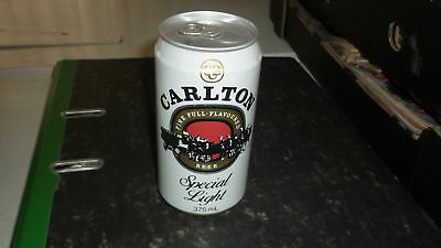 OLD AUSTRALIAN BEER CAN, 1980s CARLTON SPECIAL LIGHT ALLOY