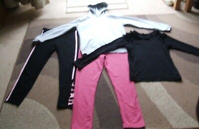 Girls Age 12 - 13 Bundle of Clothes. 4 Items Tops & Bottoms All Good Condition