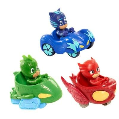 PJ Masks Characters 3pcs/set Catboy Owlette Gekko Slide Car Toys Action Figure
