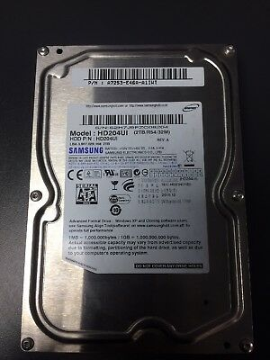 "Samsung F4 2TB,Internal,5400 RPM,8.89 cm (3.5"") (HD204UI) Desktop HDD"