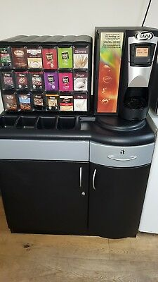 Flavia Brewer S350 Drinks Machine & base stand.