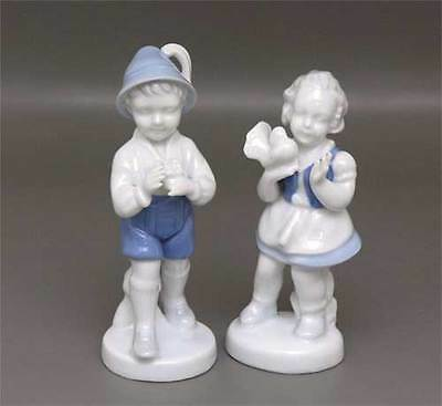 2 Old gerold-kinderfiguren Boy and Girl
