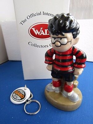 WADE ~ The Beano Comic ~ DENNIS THE MENACE  Ltd Ed with Keyring