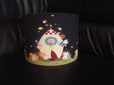 "GEORGE PIG SPACE - peppa pig 10"" DRUM CEILING LAMPSHADE LIGHTSHADE"