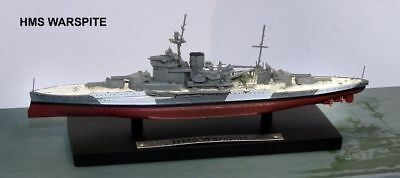 Atlas Editions 1:1250 Model Of Hms Warspite  Battleship Nib