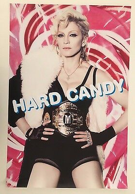 Madonna 'hard Candy' Authentic Licensed 2008 Poster