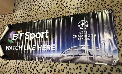 Champions League Large Vinyl BT Sport Banner