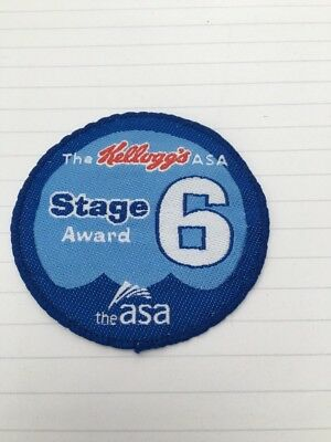 stage 6 badge for swimming
