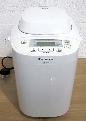 Panasonic SD-2501 Bread Maker With 27 Programmes & Gluten Free Mode.