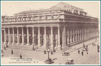 Carte Postale Bordeaux - Le Grand Theatre Municipal (#15357)
