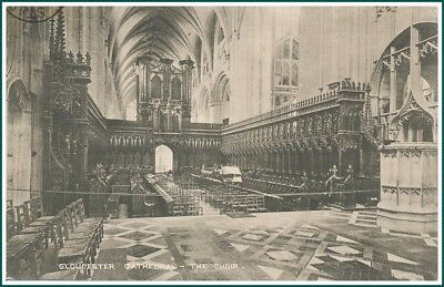 Postcard Gloucester - Cathedral, The Choir (#14935)