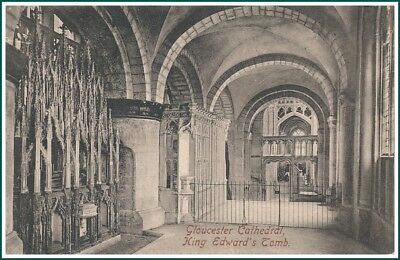 Postcard Gloucester - Cathedral, King Edward's Tomb (#14937)