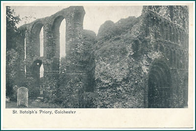 Postcard Colchester - St. Botolph's Priory (#16554)