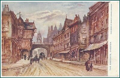 Postcard Chester - The Eastgate (#14527)