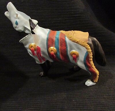 NEVER CRY WOLF from Pack 13 Retired Westland Giftware Call of the Wolf Series