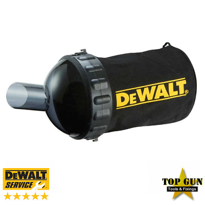 DeWalt DCP580 Cordless 18V Planer Dust Chip Collection Bag & Support Attachment