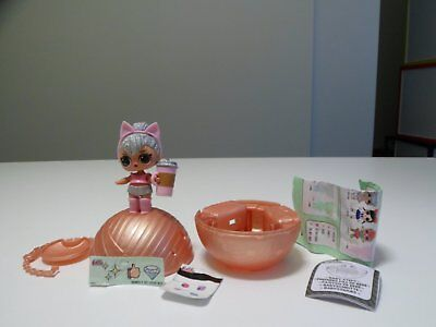 LOL L.O.L. Dolls Series 2 * Kitty Queen * Glitterati * RARE * new & complete