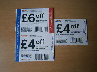 money off coupons tesco printable