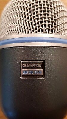 Shure Beta 52A Bass Drum Microphone HARDLY USED