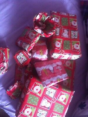 15 quality Unwanted unopened wrapped christmas / office party presents lady