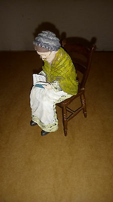 Poly resin Dolls house figure