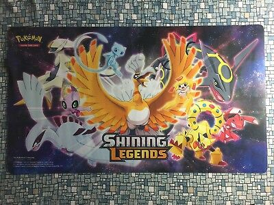Pokemon : SHINING LEGENDS SUPER PREMIUM COLLECTION BOX PLAYMAT - NEW