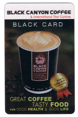Expired Black Canyon Coffee privilege card for collectables
