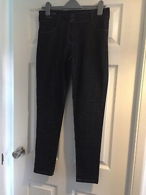 Next Skinny Jeans Indigo Dark Blue Ladies Size 12 Reg. BNWT Never Worn